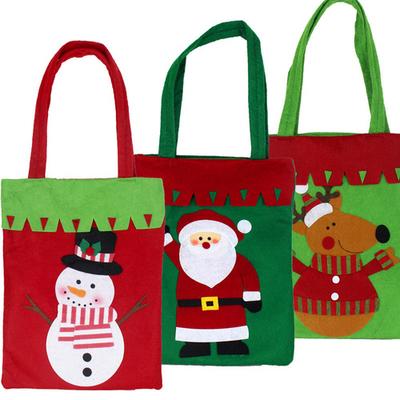 Thumb 500 500 christmas gift bag non woven bag santa snowman deer gift bag