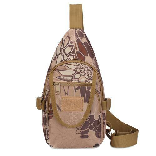 Outdoor Camouflage Hiking Cycling Chest Pack