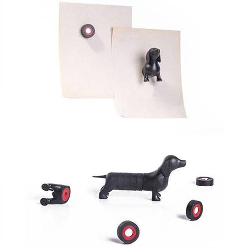 Fridge Magnet Magnetic Dachshund Dog Animal Funny Gift To Fix Stickers