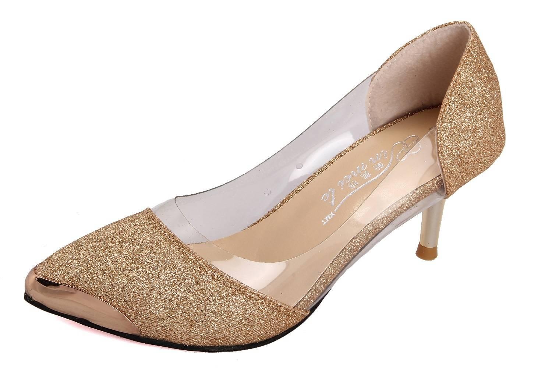 Fashion sexy shoes plastic metal-3
