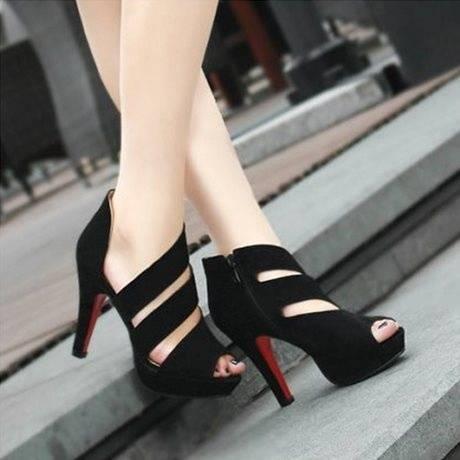 Grain sandals fashion fish mouth shoes-3