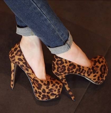 New Style Sexy Korean Heeled Shoes-2