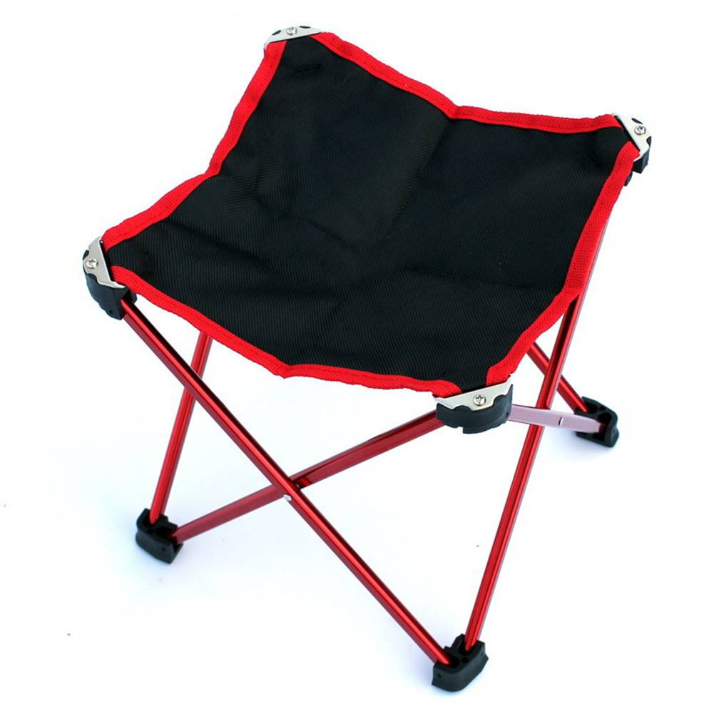 Outdoor Camping Hiking Fishing Portable Light Weight Folding Stool Chair Seat For Fishing Picnic Bbq Wholesale With Carry Bag Round Tables Mimosa