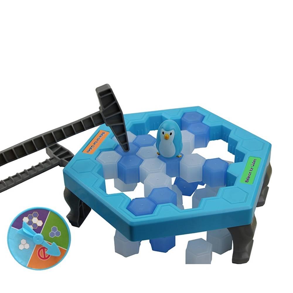 Maggift Ice-block Breaking Game Save Penguin Table Game | eBay