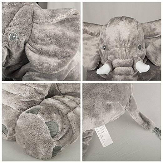 2019 New Kids Cute Large Long Nose Elephant Sleep Pillow