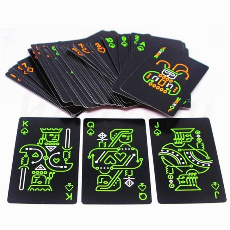 night glowing creative poker toy luminous board game