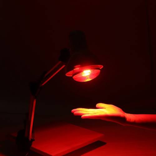 100w Infrared Red Heat Light Therapeutic Therapy Lamp Pain