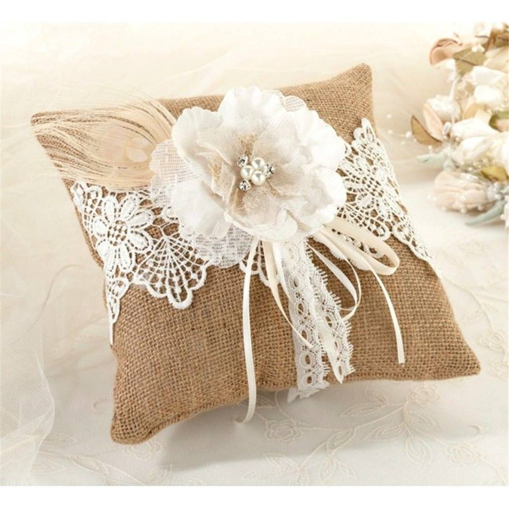 ivory with throw products purple il girl flower bearer set lace ring pillow fullxfull wedding basket