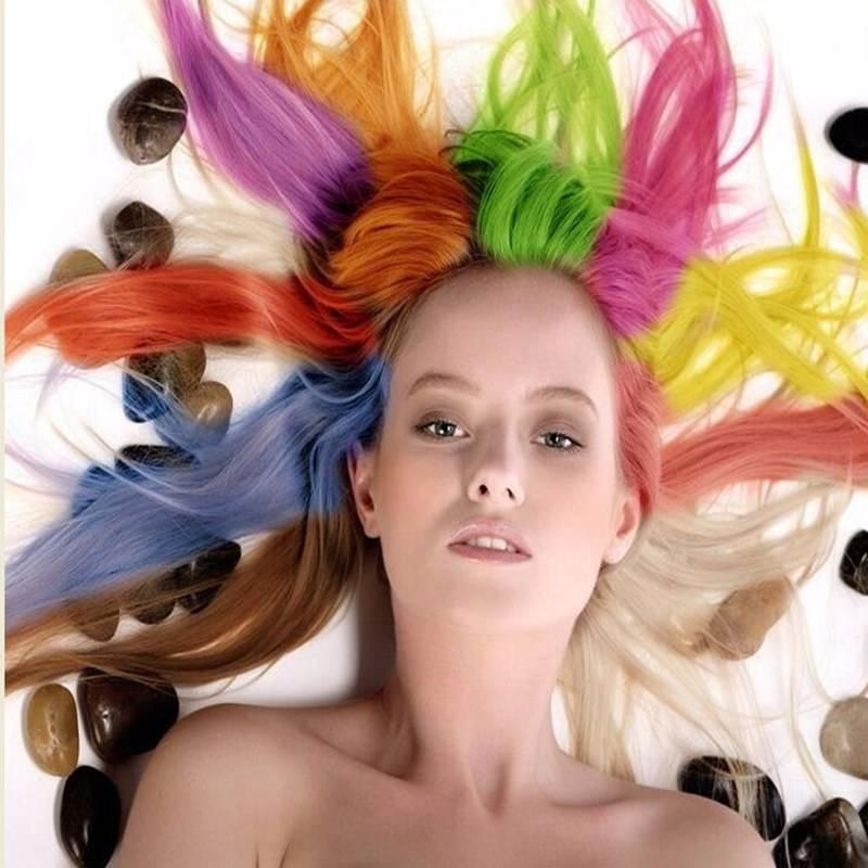 Hair Color Chalk Powder Semi Permanent Popular Hair Mascara With
